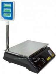 Торговые электронные весы Nokasonic со стойкой 40 кг, настольные
