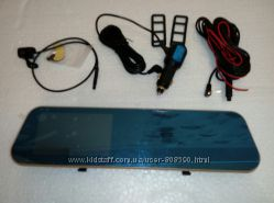 Зеркало-видеорегистратор DVR T1 с камерой заднего вида