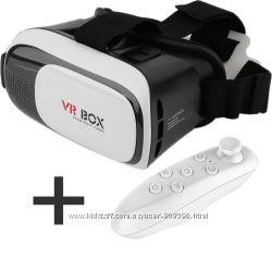 VR Box 2. 0 3D очки виртуальной реальности с пультом ДУ Вр бокс с пультом
