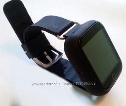 Детские часы Smart watch Q750 Q100s Black черные