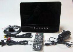 Автомобильный портативный телевизор TV NS-901 9 дюймов с аккумулятором 9