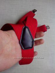 Красные универсальные подтяжки 35 мм