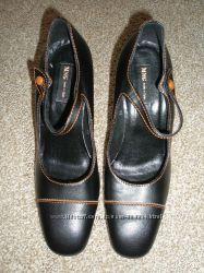 Кожаные женские туфли. Новые. Испания.