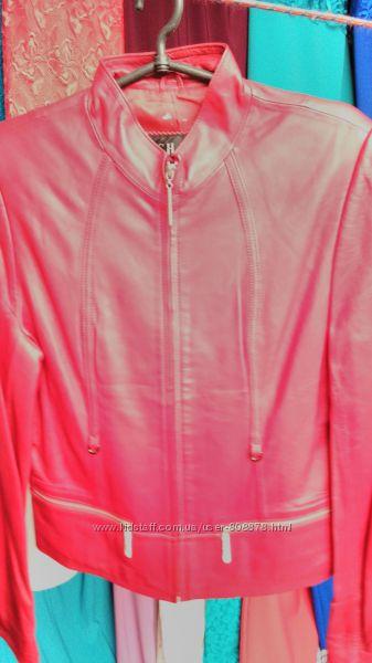 Натуральные кожаные курточки цены ниже закупок, спешите все в наличии