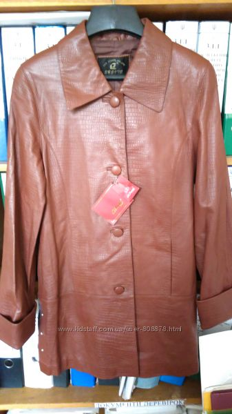 Гатуральная кожанная курточка