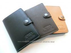 Бумажник для водительских документов натуральная кожа