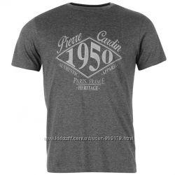 Pierre Cardin футболка новая р. L , серый цвет