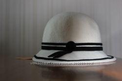 Шляпка из 100 пухового фетра-велюра.