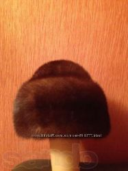 Шапка норковая, 56 размер