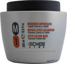 ECHOSLINE M1 Маска для окрашенных и поврежденных волос, 500 мл