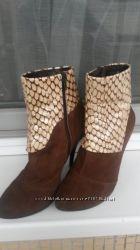 Стильные ботиночки натуральная замша