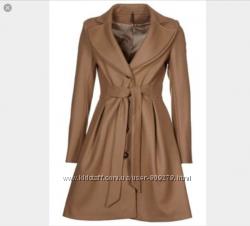 Пальто naf naf camel coat merino wool