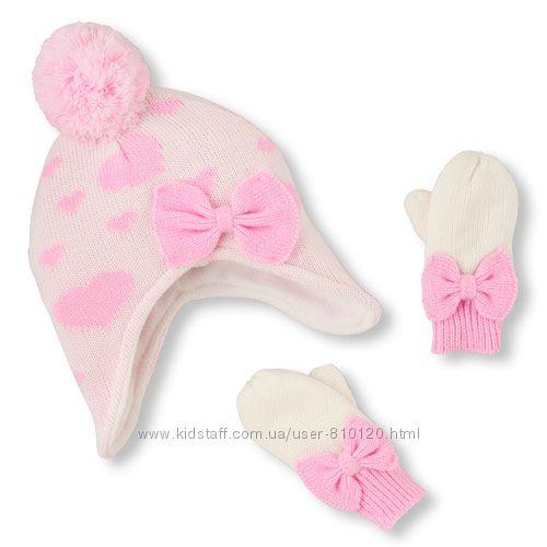 Набір шапочка і рукавички Childrensplace 12-24м