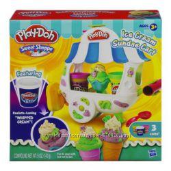 Play-Doh Cупер цена Фургончик мороженого от Hasbro