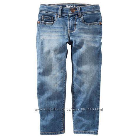 Модные джинсы skinny Oshkosh на весну, 2т и 3т