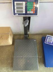 Весы усиленые складные железные 300кг