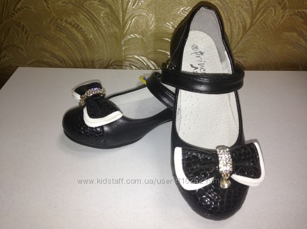 Новые туфли B&G  р. 28 - 18см, р. 34 - 22 см