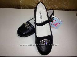 Новые кожаные туфли р. 36 - 23, 4 см