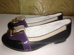 Новые туфли B&G р. 33-37 маломерят - замеры