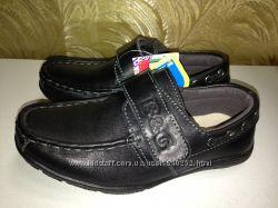 Новые кожаные туфли B&G  р. 27 - 17см
