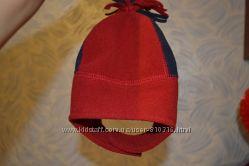 продам шапку 6-12мес флис