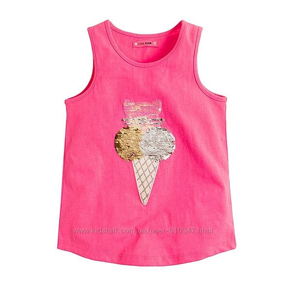 Новые футболки девочке Cool Club