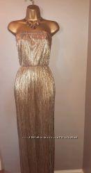 JANE NORMAN Gold нарядное платье 12р 48р