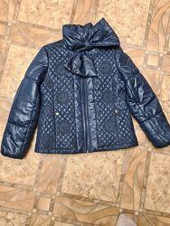 Шикарная тёплая курточка для модницы