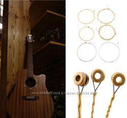 Компл. стальных струн для акустической гитары