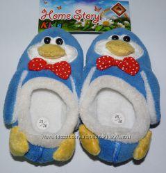 Текстильные  тапочки TM Home Story -  Пингвины