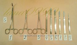 Хирургический набор из 9 предметов Днепропетровск