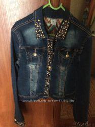 Супер джинсовая куртка