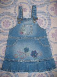 Джинсовый сарафан Gloria Jeans на 2 года