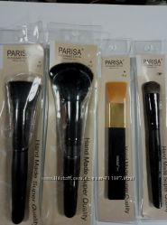 Натуральные кисти для макияжа Parisa Cosmetics