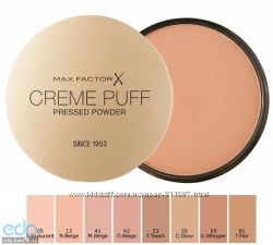 Компактная пудра Max Factor Face Finity Compact Foundation , Creme Puff