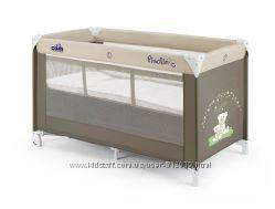 Кроватка-манеж CAM Pisolino. 2 уровня