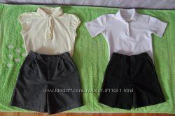 школьные юбка, блузка,  шорты от 40грн