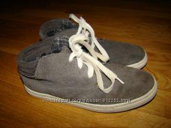 Демисезонные замшевые ботинки Next р. 2 на 35 22 см по стельке