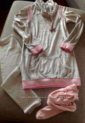 Бархатное жемчужно-серое платье-туника Roberto Cavalli , оригинал