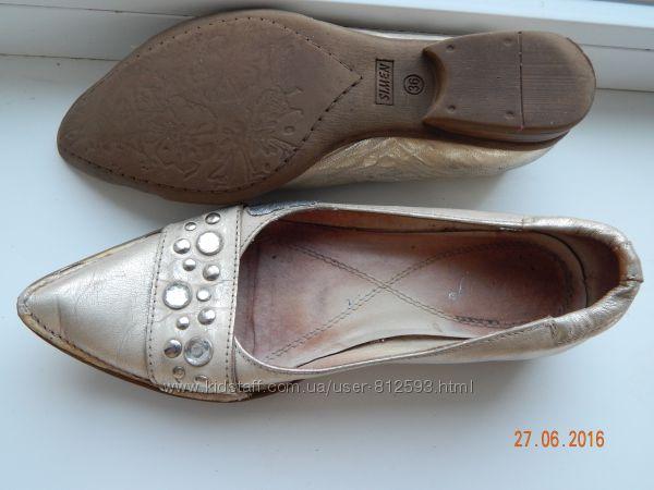 Качественные туфли-балетки Турция р-р 36