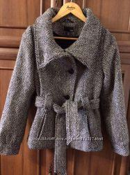 Полу-пальто шерсть размер s