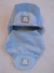Шапочка зимняя с шарфиком