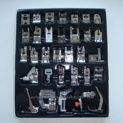 Набор лапок для швейной машины 32шт лапки  швейные