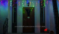 Герлянда Бахрома дождик Скидка 5м наружная  LED