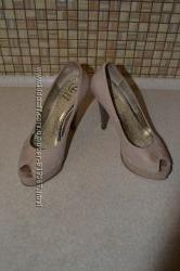 Шкіряні жіночі туфлі-босоніжки 36 р