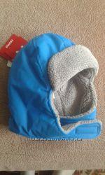 шапочка зимняя для ребенка 0-1 год фирма  Reima голубого цвета.
