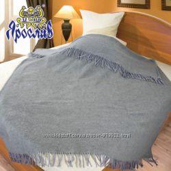 Шерстяной плед из шерсти мериноса лучший подарок родным и близким