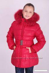 Детские зимние пальто, пуховики для девочек KIKO, Donilo.