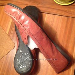 Туфли кожаные, р. 39, большая полнота