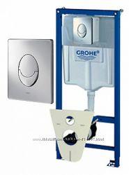 Grohe 38750 Rapid SL 38750001 Инсталляция для Унитаза 4 в 1 Германия